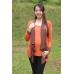 Autumnz - Janelle 2-in-1 Maternity/NursingTop(Pumpkin/Brown)