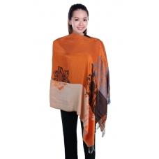 Autumnz Nursing Wrap - Azalea Tangerine