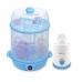 Autumnz-2-in-1 Steriliser/Steamer +Home &Car Warmer Combo (Blue)