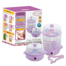 Autumnz - 2-in-1 Electric Steriliser & Food Steamer (Lilac)